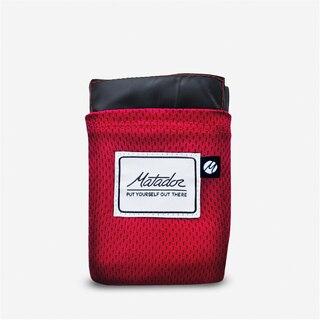 Matador Pocket Blanket Rød, 160x110cm