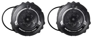 Mavic Ergo Dial II Kit Sort, 2 stk, nedre hjul, 35 cm