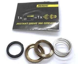 Mavic ID360 Road Ratchet Kit 2 ratchets, 1 fjær, 1 pakning, grease