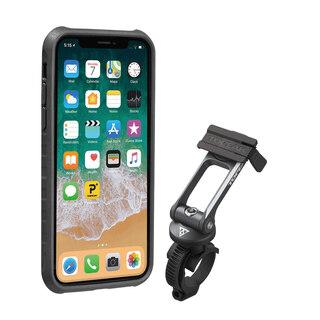 Topeak RideCase iphone X Mobilväska Skydd för iPhone X, Inkl. Fäste