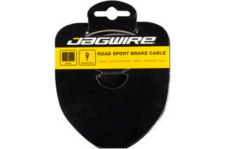 Jagwire Road Sport Stainless Bromsewire Silver, 1,5mm x 2000mm