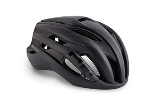 MET Trenta 3K Carbon Hjelm Black Raw Carbon, Str. S