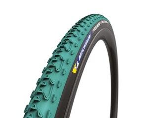 Michelin Power Cyclocross Jet Dekk Sort/Grønn, TL-Ready, 33x700c, 360 gram