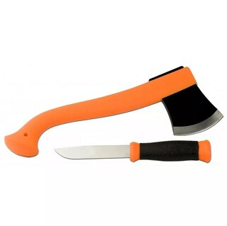 Morakniv Outdoor Kit Yxa & Kniv Orange, Rostfritt stål