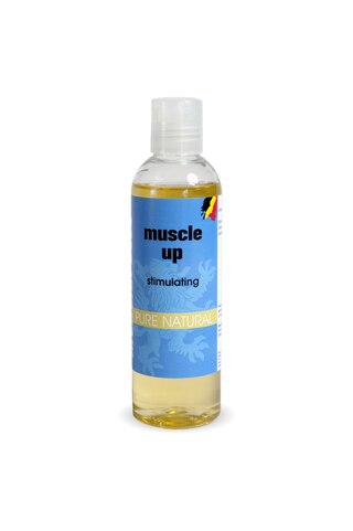 Morgan Blue Muscle Up 200 ml Muskelolje for varme dager