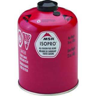 MSR IsoPro 450g Gass Rød, 450 gram