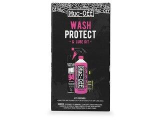 Muc-Off Wash And Protect Dry Pakke 3 i 1 pakke. Vask, beskytt og smør