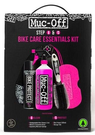 Muc-Off Essentials Kit Produkter för att underhålla din cykel