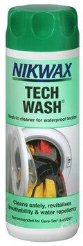 Nikwax Tech Wash Vaskemiddel 300ml, For Gore Tex og membraner