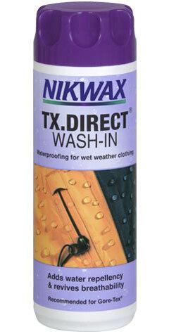 Nikwax TX.Direct Wash-In Impregnering 300ml, For Gore Tex og membraner