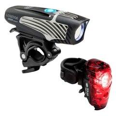 NiteRider Lumina 1200 Boost/Solas 250 1200/250 lumen, USB oppladbart