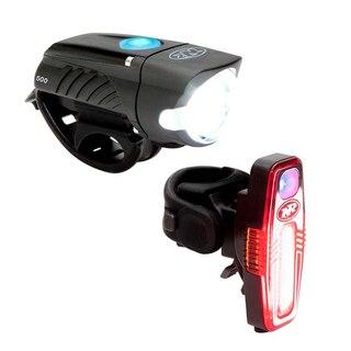 NiteRider Swift 500/Sabre 80 Lyssett 500/80 lumen, USB oppladbart