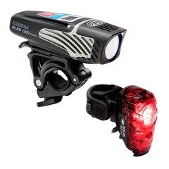 NiteRider Lumina 1200 Boost/Solas 250 1200/250 lumen, OLED, USB oppladbart