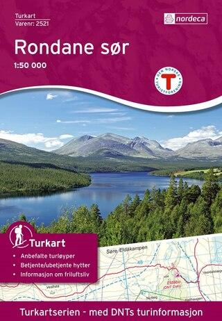 Nordeca Rondane Söder Vandringskarta 1:50 000