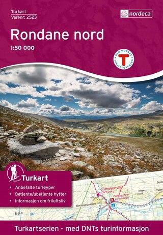 Nordeca Rondane Nord Vandringskarta 1:50 000