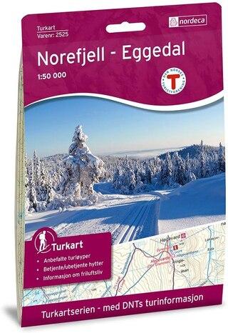 Nordeca Norefjell-Eggedal Vandringskarta 1:50 000