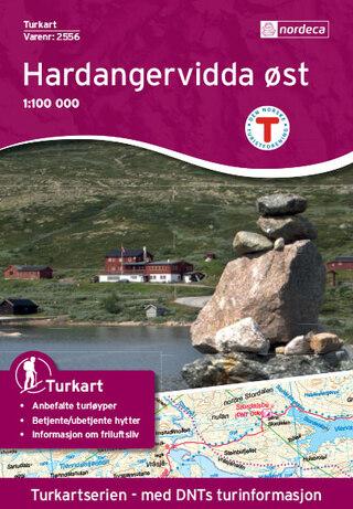 Nordeca Hardangervidda Øst Turkart 1:100 000