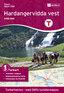 Nordeca Hardangervidda Vest Turkart 1:100 000