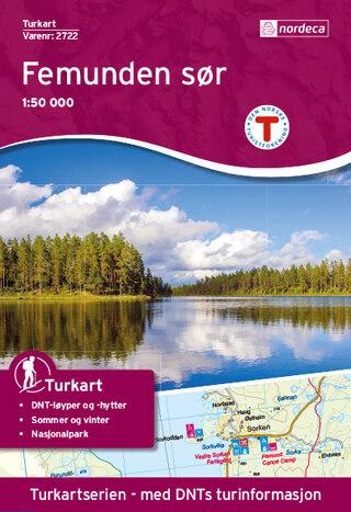 Nordeca Femunden Söder Vandringskarta 1:50 000