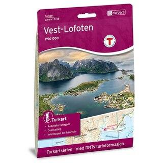 Nordeca Vest-Lofoten Vandringskarta 1:50 000