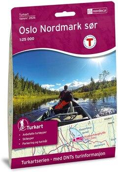 Nordeca Oslo Nordmark Sør Turkart 1:25 000