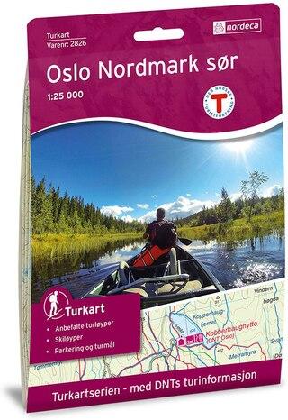 Nordeca Oslo Nordmark Sør Vandringskarta 1:25 000