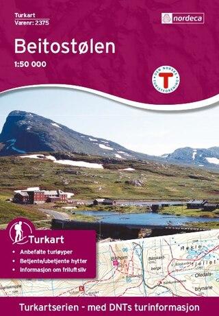 Nordeca Beitostølen Vandringskarta 1:50 000