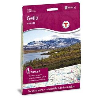 Nordeca Geilo Vandringskarta 1:50 000