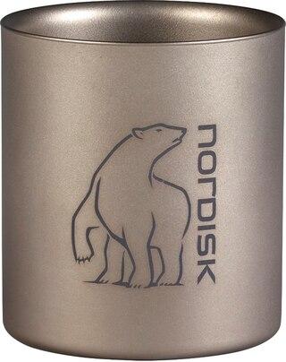 Nordisk Titan Kopp Silver, 220 ml, 78 g