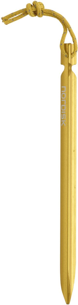 Nordisk Alu. Triple Twister Tältpluggar Gul, 150 mm, 9 g, 6 stk.