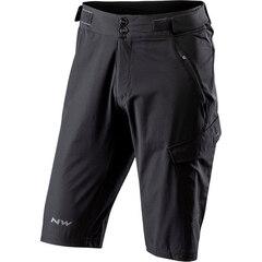 Northwave Edge Baggy Shorts Black, Str. XL
