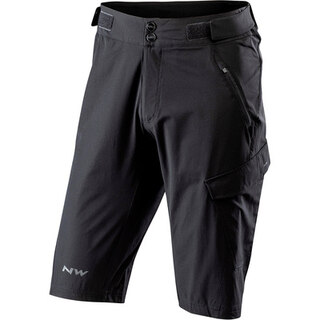 Northwave Edge Baggy Shorts Sort, vannavvisende, lett!