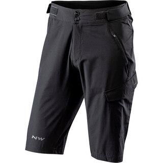 Northwave Edge Baggy Shorts Svart, vattenavvisande, lätt!