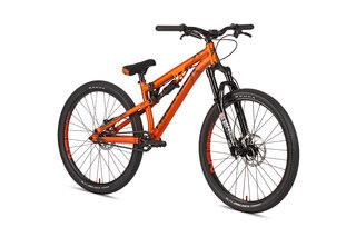 "NS Bikes Soda Slope Dirtsykkel Trans Orange, 26"", 13.8kg"
