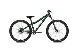 """NS Bikes Zircus 24 Dirtsykkel Grønn, 24"""", Aluminium Ramme"""