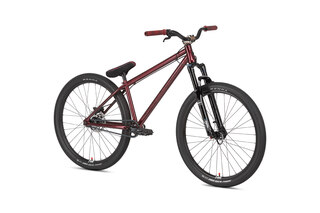 "NS Bikes Metropolis 1 Dirtsykkel Rød, Stål, 26"""