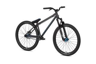 "NS Bikes Metropolis 2 Dirtsykkel Sort, 26"", Dempegaffel"