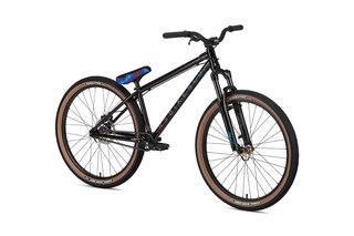 "NS Bikes Metropolis 3 Dirtsykkel Sort, 26"", Dempegaffel"