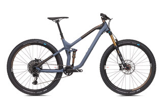 "NS Bikes Define 130 1 Mountainbike Slate Blå, 29"", Kol"