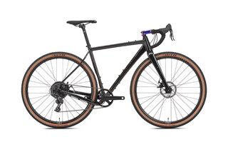 NS Bikes RAG+ 2 Grusracer Sort, 700C, Aluminium, Carbon Gaffel