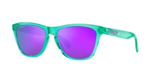 Oakley Frogskins XS Brille Trans Celeste/Prizm Violet