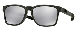 Oakley Catalyst Brille Steel/Chrome Iridium