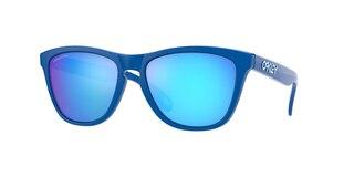 Oakley Frogskins Brille Sapphire/Prizm Sapphire