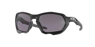 Oakley Plazma Briller Matte Black/Prizm Grey Polarized