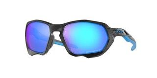 Oakley Plazma Briller Matte Black/Prizm Sapphire Polarized