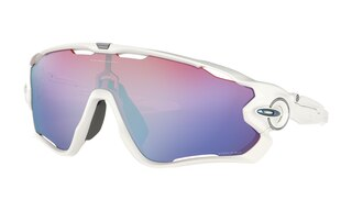 Oakley Jawbreaker Prizm Briller Polished White/Prizm Snow
