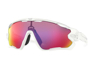 Oakley Jawbreaker Glasögon Polished White/Prizm Road