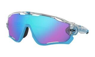 Oakley Jawbreaker Glasögon Matte Clear/Prizm Sapphire