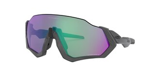 Oakley Flight Jacket Briller Grey Ink/Prizm Road Jade