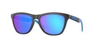 Oakley Frogskins Mix Brille Matte Black/Prizm Sapphire Polarized